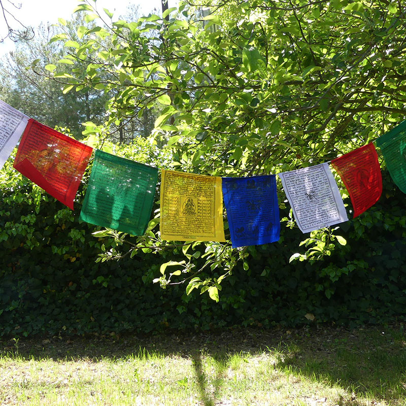 50 Banderas Tibetanas Grandes de banderas tibetanas