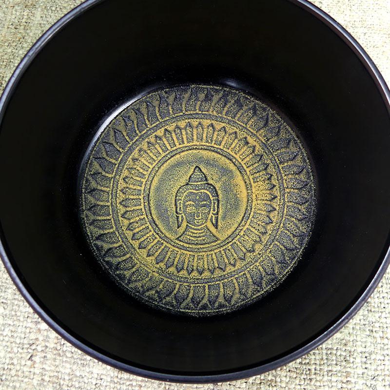 Cuenco Tibetano Verde 15 cm de 5 METALES