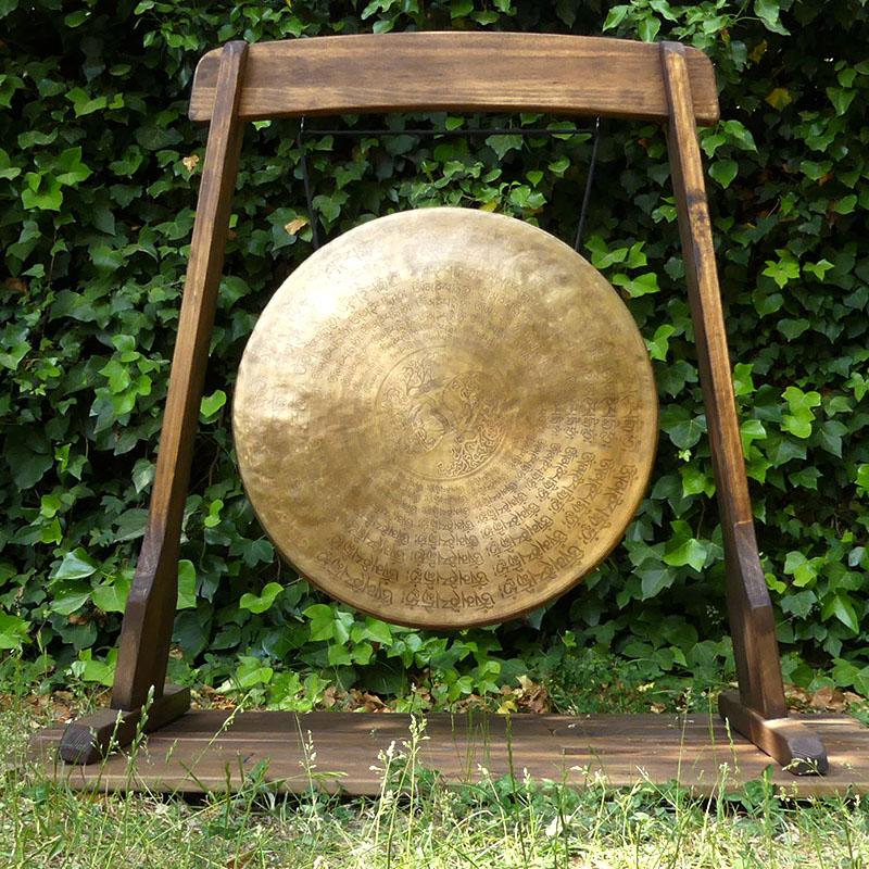 GONG TAM TAM 60 CM de gongs GONGS 7 METALES MARCOS MADERA