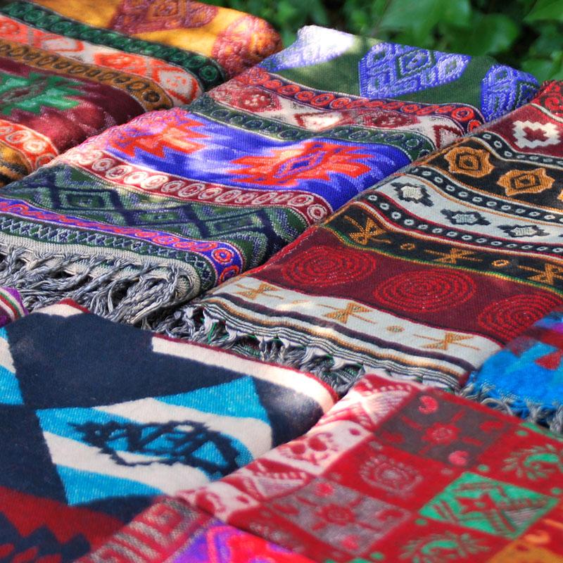 tibetimport.com, ver productos de la familia MANTAS