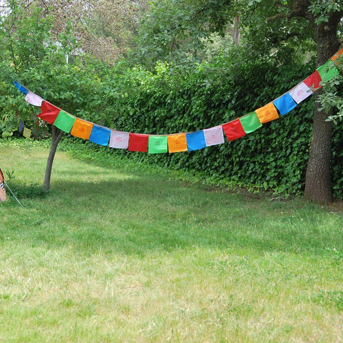 Banderas Tibetanas Seda 2