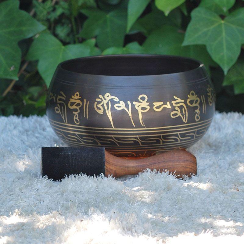 Cuenco Tibetano Master 2 kg de cuencos tibetanos 5 METALES 7 METALES GRABADOS ORISSA ESPECIALES THADOS